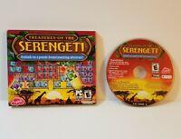 Treasures of the Serengeti PC 2010 windows match 3 three jigsaw puzzle action