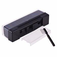 UK Record Cleaning Kit Velvet Brush Stylus Cleaner Anti Dirt Dust Brush Black