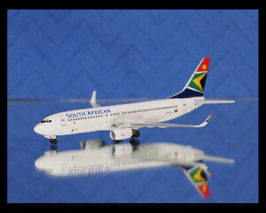 Boeing B737-85F SOUTH AFRICAN AIRWAYS Dragon Wings 1/400 55315 RARE MINT