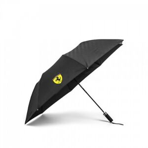 Ferrari Black Travel Umbrella