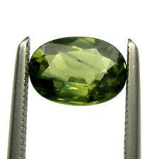 0.94 carat VVS 7x5mm Oval Green Natural Australian Fancy Parti Sapphire, OPS34