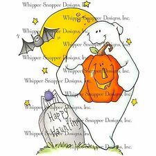 Halloween Haunting, Unmounted Rubber Stamp Whipper Snapper Designs New LY924
