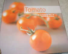 NEW Tomato Cookbook Tantalizing tour of recipes book  yummy hardcover good