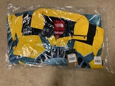 NWT Supreme The North Face Statue Of Liberty Mountain Jacket Yellow Xl FW19