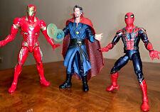 Marvel Legends Lot- Dr. Strange, Iron Spider. Iron Man MCU Infinity War