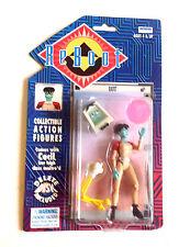 VINTAGE 1995 TV correlati riavvio DOT Action Figure, Irwin Toys, non aperto