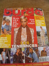 MAGAZINE BURDALE RETOUR DE LA REDINGOTE LONDRES LA MODE A L'ANGLAISE 1998