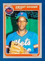 Dwight Gooden #82 (1985 Fleer) Rookie Baseball Card, New York Mets
