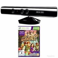 Kinect Sensor Xbox 360 + Kinect Adventures Xbox 360 With PSU - Super Fast Del