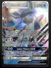 Carte Pokemon GIVRALI 39/156 GX Ultra Rare Soleil et Lune 5 SL5 FR NEUF