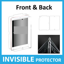 """iPad Pro 9.7"""" Screen Protector INVISIBLE Full FRONT AND BACK Military Grade"""