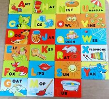Parents Magazine Replacement Alphabet Cardboard Word for Magnetic Letters Random