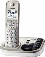 Panasonic KX-TGD220N DECT 6.0 Expandable Digital Cordless Answering System used