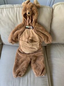 Kangaroo Costume Size 0-6 Month Dress Up baby Halloween Outfit w/joey pocket
