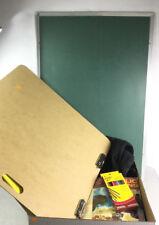 Chalk Board, Clip Board, And Art Supplies Lot 3357