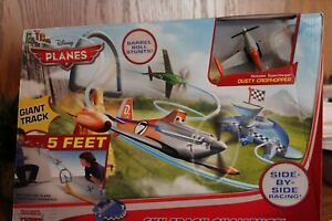 Disney Planes Sky Track Challenge Track Set Side by Side Racing New