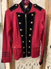 Ralph Lauren Denim & Supply Military Jacket Red Size M