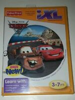 NEW SEALED Fisher-Price iXL Learning System Software Game Disney Pixar Cars 2