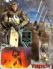"Stan Winston Creatures, Medieval Blood Wolves 8"" Werewolf VERETICUS Figure"