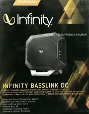 """NEW Infinity BASSLINK-DC 10"""" 200W RMS Amplified Subwoofer Car Audio Bass System"""