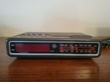 Vintage GE 7-4612B AM/FM Alarm Clock Radio Digital LED General Electric tested