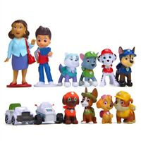 Figuras Patrulla Canina juguete Paw Patrol Marshall Chase toy chicaleta perrito