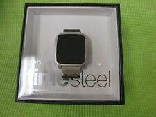Pebble Time Steel Smartwatch For Apple/Android Devices Gray 511-00023 New