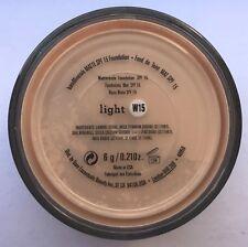 BAREMINERALS BARE ESCENTUALS SPF 15 Foundation - MATTE Light W15 6G - XL
