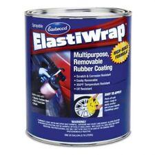 Elastiwrap BURN OUT BLACK Rubber Coating US Gallon (3.78L) Medium Size Car Kit