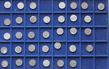 Nazi , 1 Pfennig Sammlung ,alle mit  Hackenkreuz ,Zink , 3. Reich ,bitte lesen !