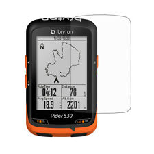3x Clear Lcd Screen Protector Shield Film for Gps Bryton Rider 530