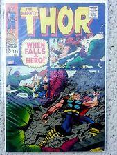 Thor #149 *VF* *BLACK BOLT ORIGIN* Inhumans Marvel Silver Age Lee & Kirby*