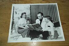 SPIKE JONES & FAMILY PRESS KIT  original 8X10 PHOTO PHOTOGRAPH #192