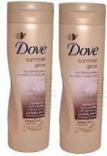 DOVE Summer Glow GRADUAL SELF TAN Body Lotion  MEDIUM to DARK x 2
