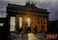 Wackelkarte: Brandenburger Tor in Berlin mit der Mauer 1967 und ohne 2011