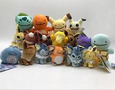 Pokemon Plush Ditto Guys Plush Soft Toy Keychain Pendant Stuffed Animal Doll