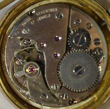 """Mirexal""~17J Rare cal.FHF 969-4 Vintage Swiss Circa 1970's Date GP Wristwatch"