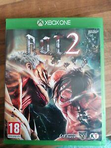 A.O.T 2- Attack on Titan 2 Microsoft Xbox One