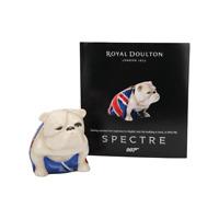 LAST ONE NEW ROYAL DOULTON JACK BULLDOG JAMES BOND SPECTRE BRITISH FLAG BUY NOW!