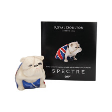 NEW ROYAL DOULTON JACK BULLDOG JAMES BOND 007 SPECTRE BRITISH FLAG FREE SHIPPING