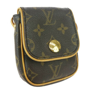 LOUIS VUITTON POCHETTE CANCUN SHOULDER BAG POUCH MI1025 MONOGRAM M60018 04270