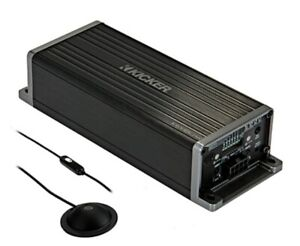 1 Stck. (249,00€  / 1 Stck.)  Kicker KEY180.4 - 4-Kanal Verstärker mit DSP digi