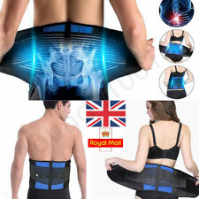 Neoprene Double Pull Lumbar Lower Back Support Belt Brace Pain Relief Adjustable
