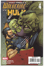 Ultimate Wolverine Vs Hulk 4 A Marvel 2009 NM 1st Print