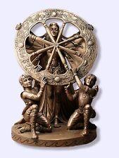 Arianrhod Statue Celtic Goddess w/ Cosmic Wheel Maxine Miller Figurine #10887