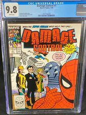 Damage Control #1 CGC 9.8 1989 Marvel Comics Spider-Man & Thor Cover A314