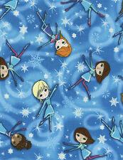 Fabric 100% Cotton Timeless Treasures Glitter Cosmic Girls CM3552