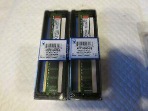 2x 8GB Kingston KCP316ND8/8 240-Pin DDR3 RAM Desktop Memory PC3-12800 1600