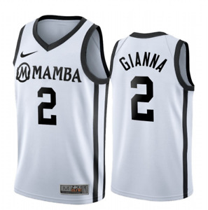 "Men's ""GiGi"" Gianna Bryant #2 Mamba Basketball Jersey Black & White | S-4XL"