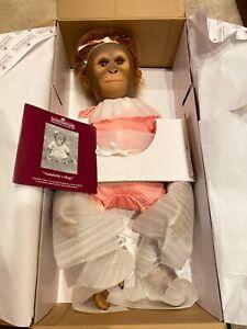 Ashton-Drake Galleries Monkey Doll by Ina Volprich: Annabelle's Hugs BNIB